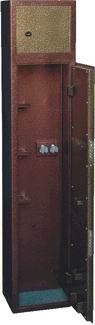 Оружейный сейф (шкаф) ССМ ОШ-2Г
